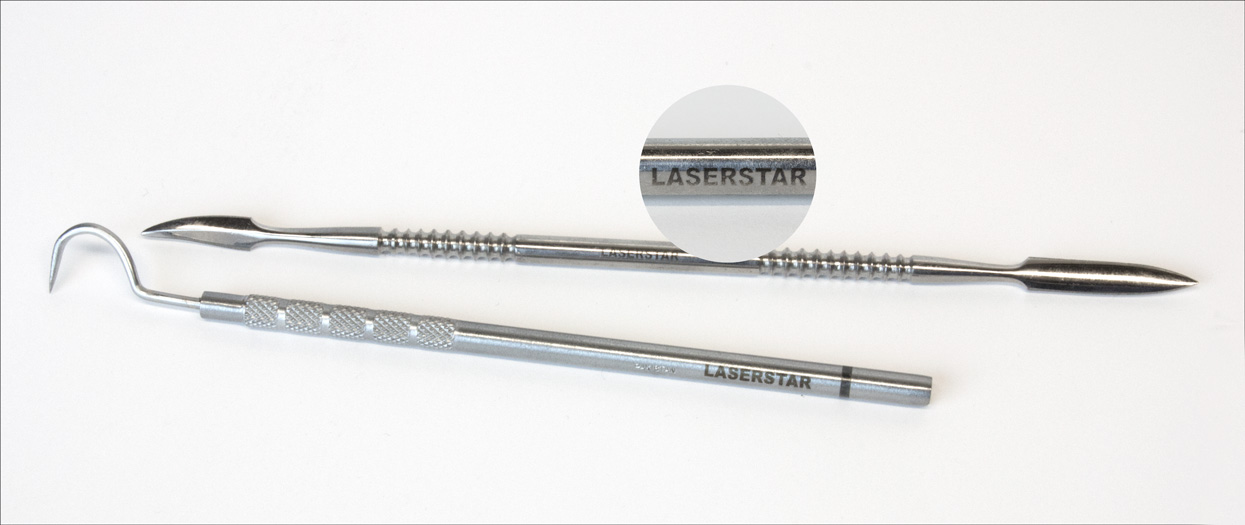 surgical tool laser marking