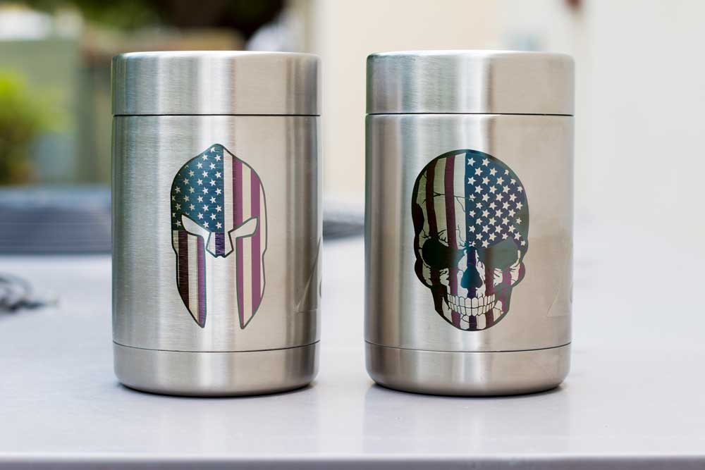 Laser Engraving on Stainless Steel Tumbler