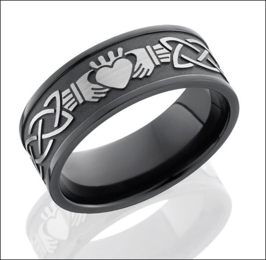 Deep Laser Engraving a Ring