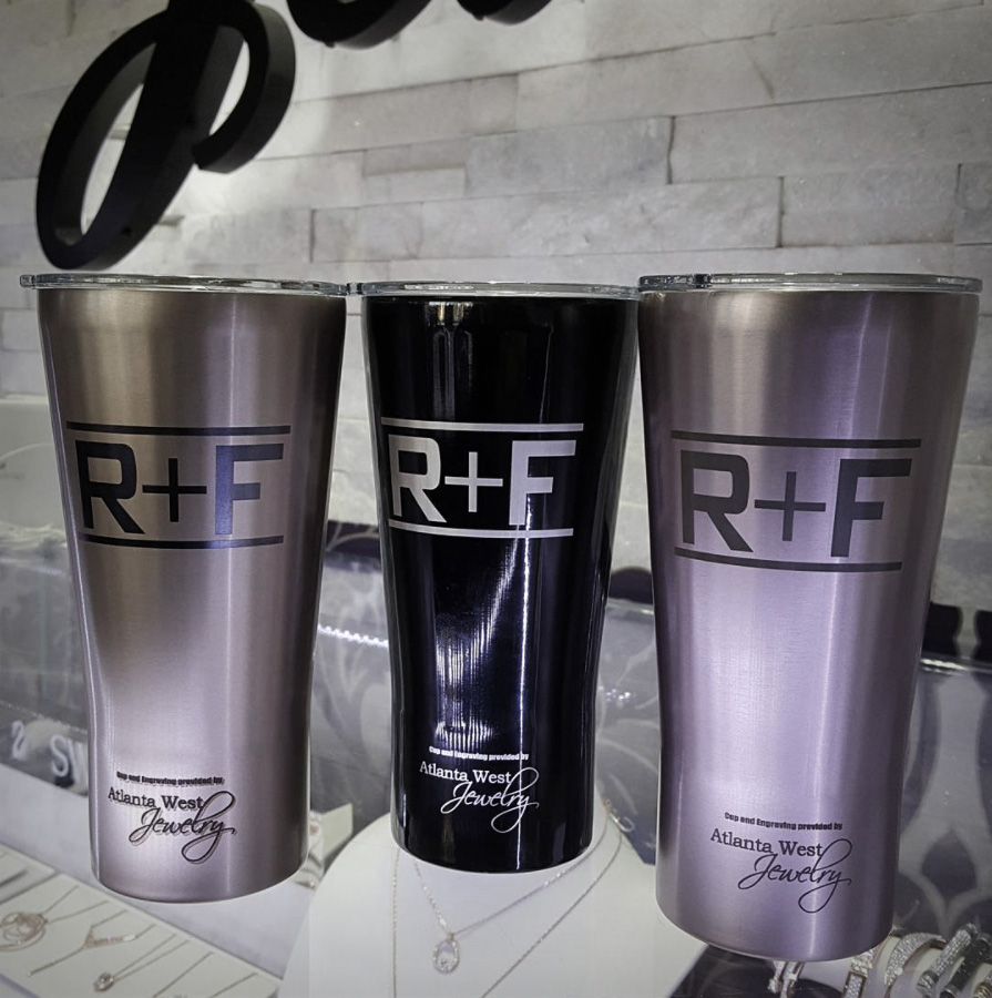 Custom Laser Engraved Tumblers