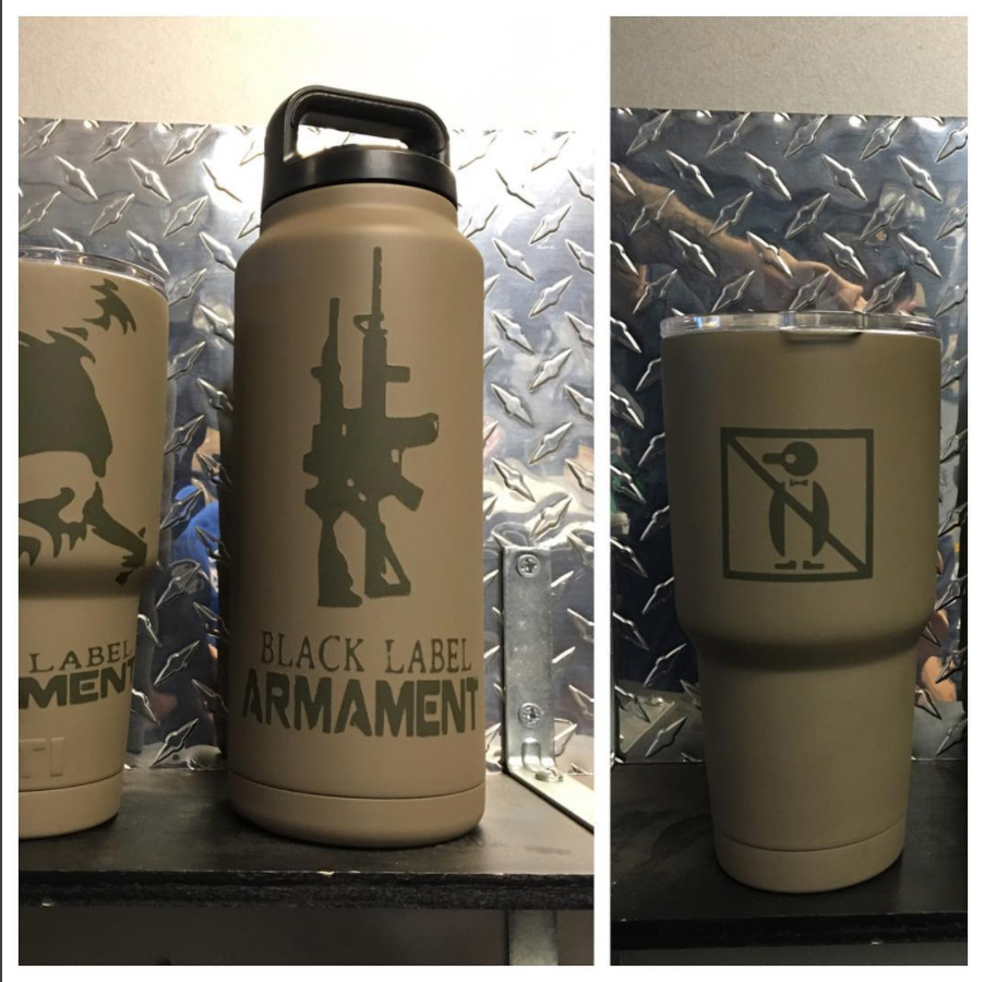 Custom Engraved Tumblers