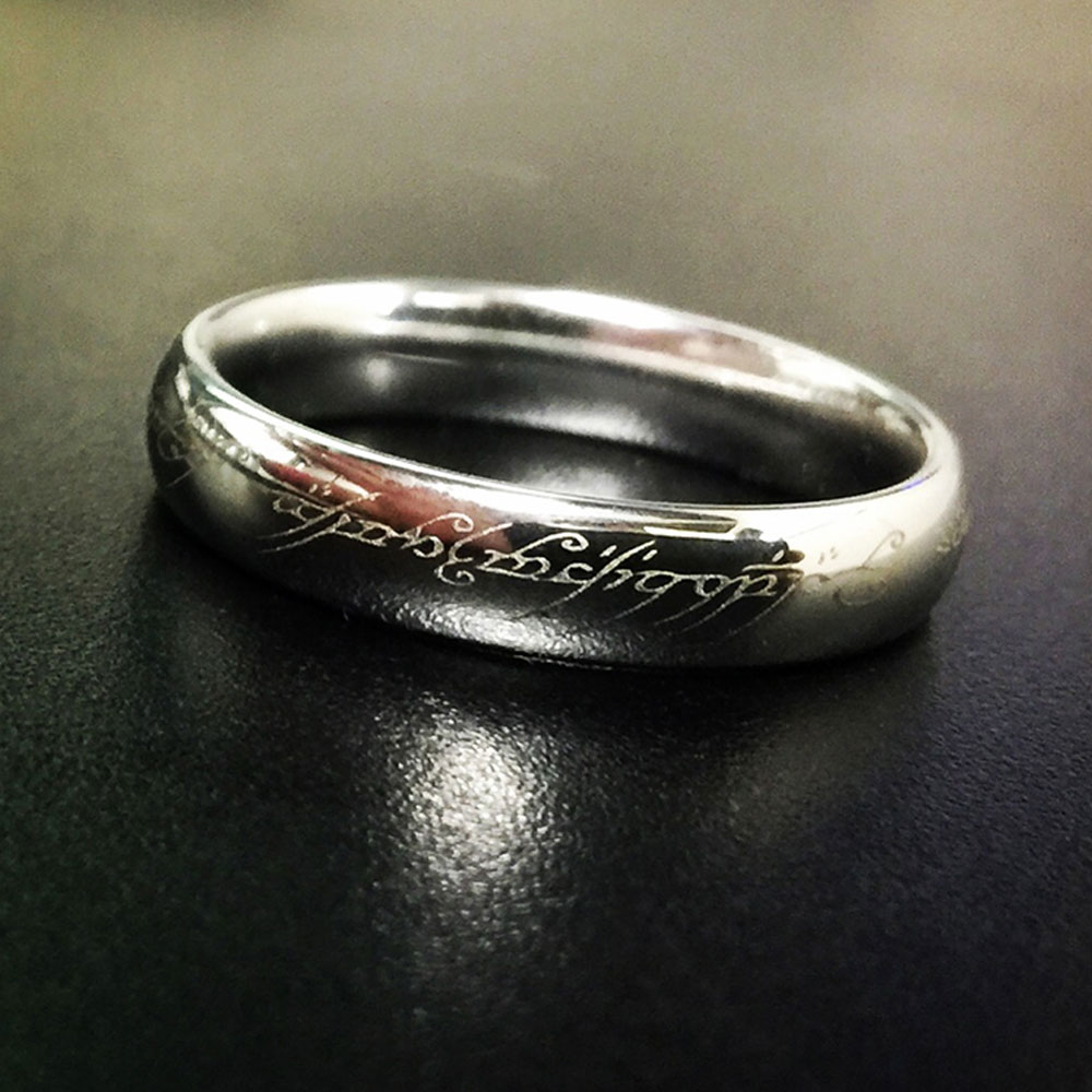 Laser Engraved Ring Design