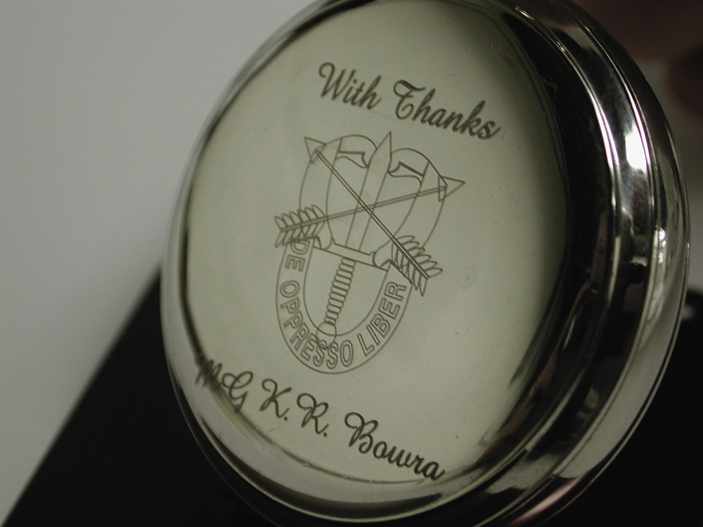 Laser Engraved Pocket Watch