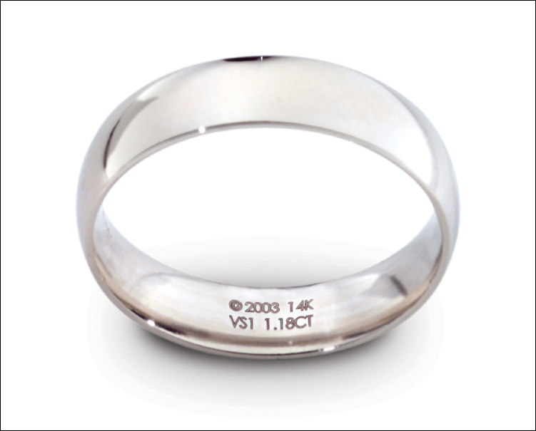 Laser Engraving the Inside of a Ring