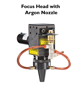 Focus Head with Argon Nozzle
