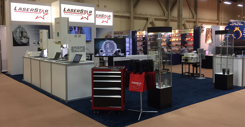 laser companies at JCK, LaserStar at JCK